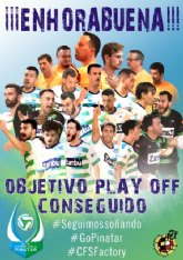 CFS Pinatar. 'Somos de play off'