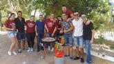 El Día de la Región se celebró en Archena con una jornada convivencia haciendo paellas en el Jardín de Villa Rías