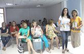 La escritora Marga Sánchez presenta su libro 'Sobradas razones para un alma' en Puerto Lumbreras