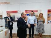 Alcantarilla disfruta de la exposición 'Más que cuevas', Arte Rupestre y Arqueología en el Cañón de Almadenes (Cieza, Murcia)