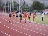 Intensa tarde de atletismo en Alhama