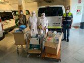 Las Hermanitas de los Pobres reciben una donación de 500 pañales
