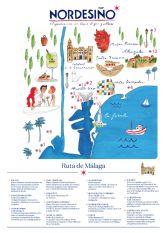 Nordés inaugura las Rutas Nordesino en Málaga: un recorrido con los mejores aperitivos de la ciudad
