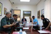El delegado del Gobierno destaca el descenso de un 5% en las infracciones penales en Alhama de Murcia