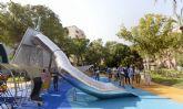 Los jardines del Oeste, el eje peatonal de 70.000 m2 que se abre a las familias murcianas en el corazón de la ciudad