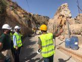 Mañana se abre al tráfico la carretera regional de La Parroquia por la que se accede al Castillo de Lorca