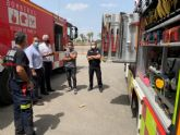 El Ayuntamiento trabaja con los bomberos del Consorcio regional en la mejora del servicio de emergencias ante inundaciones de cara al próximo otoño