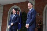 España e Italia apelan a la solidaridad europea para hacer frente a las consecuencias sociales y económicas de la crisis del COVID-19