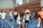 Más de un centenar de niños participan en la Escuela Deportiva de Verano de Puerto Lumbreras