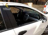 La Guardia Civil desmantela en Cieza un grupo delictivo dedicado a robar en vehículos