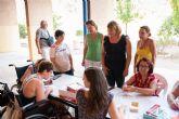 Usuarios de AIDEMAR disfrutan de su estancia en el centro residiencial del Peñasco