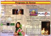 El próximo domingo comienzan en Alcantarilla las Fiestas de la Asunción en el barrio de Campoamor