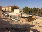 Las obras del nuevo parque del barrio de San José continuarán durante este mes