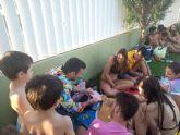 Las piscinas municipales de Puerto Lumbreras  acogen a más de 7500 personas durante el mes de julio