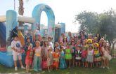 La Ludoteca de verano se despide con la fiesta del agua