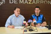 La Policía Local se vuelca con la seguridad en Mazarrón