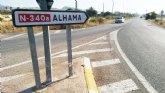Se licita el contrato de rehabilitaci�n en varios tramos del firme de la N-340 en el t�rmino municipal de Totana por m�s de 34.000 euros
