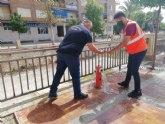 Protecci�n Civil acomete trabajos de revisi�n t�cnica en m�s de 150 hidrantes distribuidos por el casco urbano y el pol�gono industrial �El Saladar�