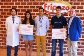'Fripozo' entrega sus becas anuales a tres jóvenes torreños