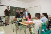 La directora general de Calidad Educativa visita el CEIP Bahía en el inicio del curso escolar