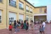 Un total de 3.592 alumnos de Educaci�n Infantil y Primaria comienzan el curso escolar 2019/20 con normalidad en once colegios de Totana