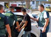 La Guardia Civil detiene a dos personas dedicadas a cometer delitos contra el patrimonio en San Pedro del Pinatar