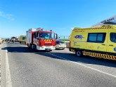 Accidente de tráfico colisión frontal ocurrido en dirección al Jimenado