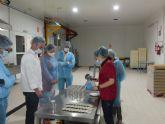 Sonia Moreno visita la fábrica 'Confituras tradicionales', reconocida como una de las diez mejores mermeladas del mundo