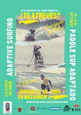 Se presentan las jornadas de surf y paddle sup adaptados que se celebrar�n en la playa de Ia Reya