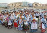 Ofrenda floral y misa en honor a la Virgen del Rosario