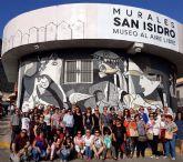 Cincuenta personas participan en la visita a Orihuela para participar en la Ruta Hernandiana con motivo del 75 aniversario de la muerte del poeta Miguel Hernández