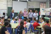 Alumnos del colegio Los Antolinos participan en el programa 'Rutas científicas, artísticas y literarias'