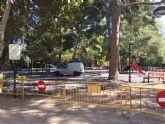 Queda cerrada desde hoy el área de juegos infantiles del parque municipal