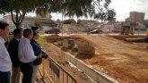 Un nuevo depósito de laminación en San Javier evitará que las escorrentías lleguen al Mar Menor
