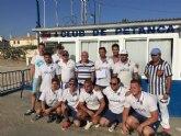 La Supercopa Regional de Petanca re�ne en Puerto de Mazarr�n a m�s de 200 participantes
