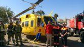 El Ayuntamiento agradece la labor antiincendios de los voluntarios de Protecci�n Civil
