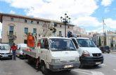Se inicia expediente para contratar la póliza de seguro de la flota de vehículos del Ayuntamiento de Totana
