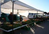 El Mercadillo Semanal en El Paretón se adelanta esta semana del viernes al jueves por coincidir con el Día de la Fiesta Nacional, festividad del Pilar