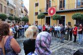 Concentración en Alcantarilla para manifestar la repulsa contra la lacra social que supone la Violencia de Género