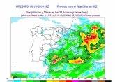 Regresan las fuertes lluvias a la Región de Murcia