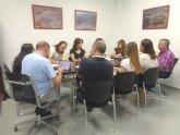 El Centro de Desarrollo Local acoge la primera reunión de coordinación del área de Desarrollo Económico y Local del Ayuntamiento de Totana