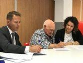 El Ayuntamiento firma un Convenio de Colaboración con el Club de Pensionistas y Jubilados 'Virgen de la Consolación' de El Jimenado