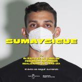 La campaña SUMA Y SIGUE, dirigida a los jóvenes, sobre los riesgos del COVID-19 y las medidas de prevención, llega a Molina de Segura el sábado 10 de octubre