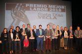 López Miras preside el acto de entrega de los Premios Siete Días, organizados por el periódico 'Siete Días Yecla'