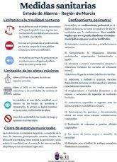 Nuevas medidas sanitarias en el marco del Estado de Alarma