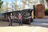 El jard�n de Cervantes inaugura su mural dedicado a El Quijote