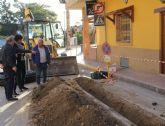 El Ayuntamiento renueva la red de abastecimiento de agua de la calle Severo Ochoa y Puerto Rico