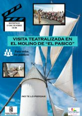 Visita Teatralizada al Molino y Ermita de El Pasico, el domingo 15 de diciembre