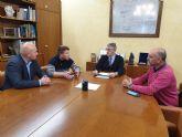 La CHS estudia con el Ayuntamiento de Fuente Álamo la situación de expedientes ganaderos
