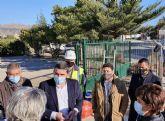 La Comunidad finaliza las obras de los colectores de saneamiento y recogida de pluviales en el casco urbano de Beniel